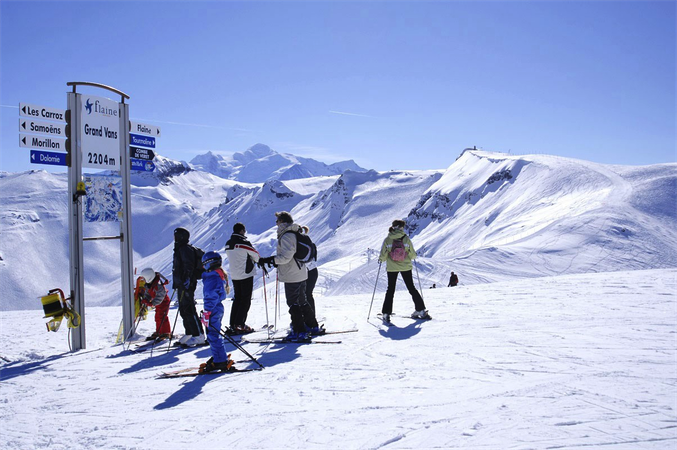 ski alpin flaine